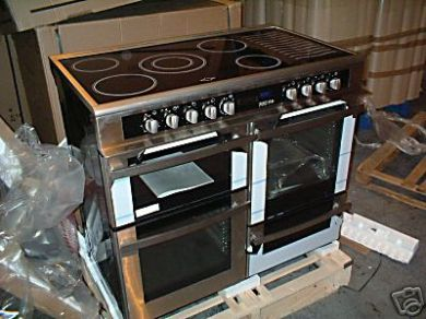 LEISURE ELECTRIC RANGE COOKER S/STEEL